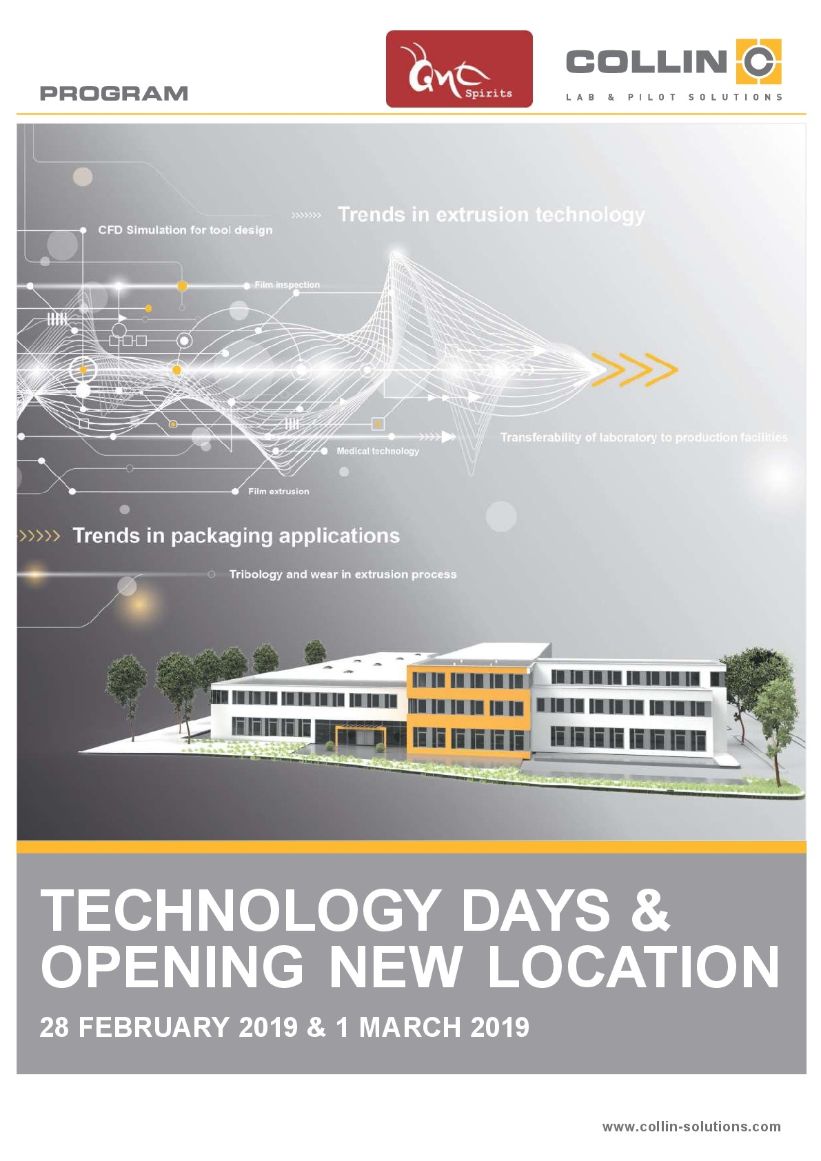 DR COLLIN TECHNOLOGY DAY 2019 @ COLLIN Lab & Pilot Solutions GmbH | Maitenbeth | Bayern | Germany