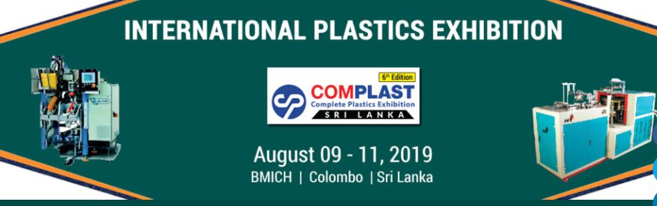 International Plastics Exhibitions COMPLAST (Sri Lanka) 6th Edition @ BMICH, Colombo, Sri Lanka | Colombo | Western Province | Sri Lanka