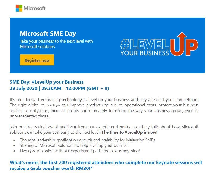 SME Day: #LevelUp your Business