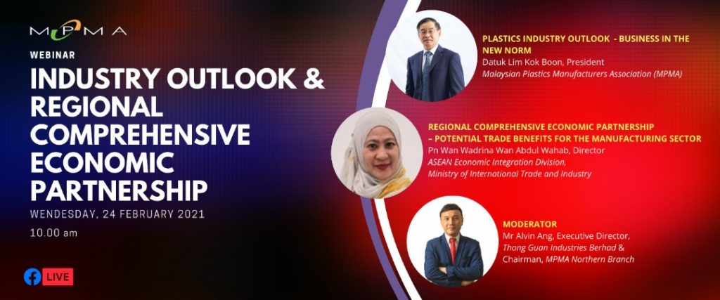 Webinar on Industry Outlook & Regional Comprehensive Economic Partnership